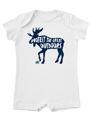 Great Outdoors Water-Based Jersey T-Romper