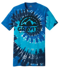 Gravity Outdoor Co. Water-Based Print Tie-Dye T-Shirt