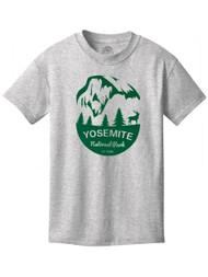 Yosemite National Water-Based Youth Cotton T-Shirt