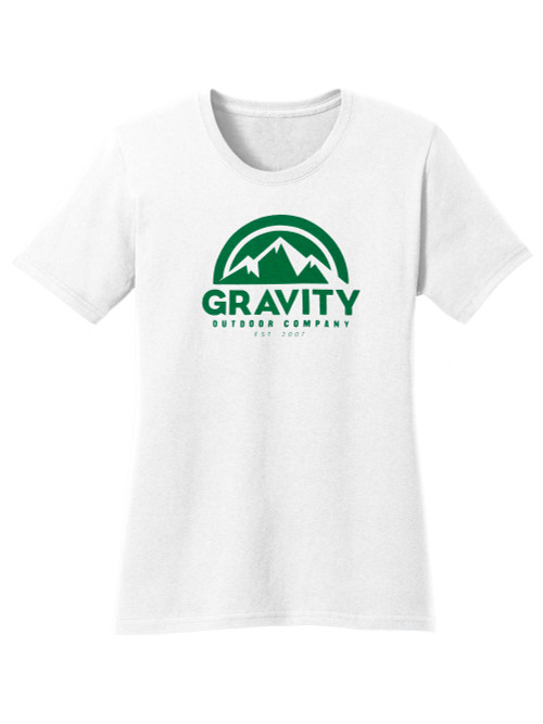 Gravity Outdoor Co. Water-Based Womens Cotton T-Shirt