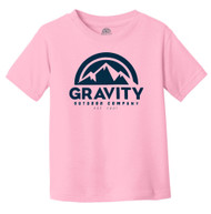 Gravity Outdoor Co. Water-Based Screen Toddler T-Shirt