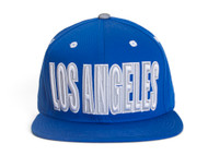 Los Angeles Snapback w/ Reflective Script