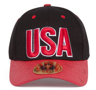 TopHeadwear USA Country Adjustable Cap w/ Curved Floral Bill