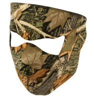 CAMOUFLAGE, NEOPRENE WINTER FULL FACE MASK w NOSE MOUTH VENTS