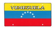 National Plastic License Plate Cover Holder, Venezuela