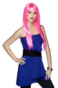 Blush Womens Cindy Pink Explosion Wig
