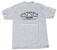 California State Cotton T-Shirt - Grey