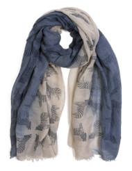 Gravity Threads Soft Cotton Zebra Fashion Scarf