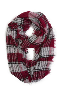 Gravity Threads Hand Knit Fashion Chic Scarf