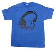 Men's Headphones Music Graphic T Shirt