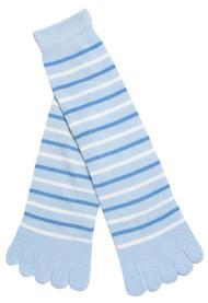 Thin Stripped Long Toe Sock