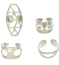 Womens Designer Ring Set (4 pcs)
