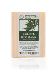 Codina Organic Hemp Soap, Gentle moisturizing cleanser for dry, sensitive skin
