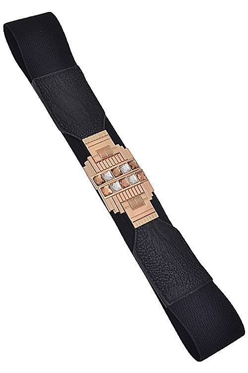 Womens Fashion Gatsby Elastic Belt