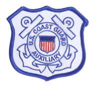 United States Coast Guard Auxiliary Seal Patch