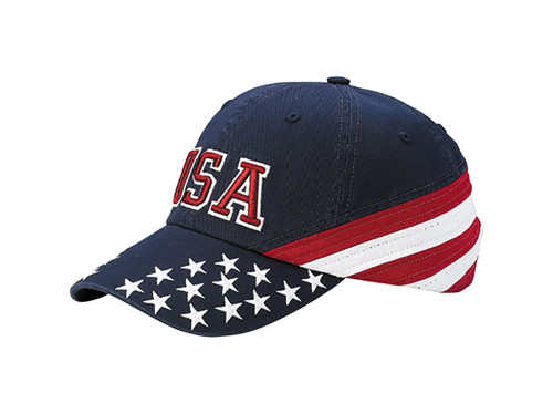 Flag Caps - Navy USA Star