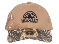 Logo Fishing Bass Two-Tone Realtree Adjustable Baseball Cap