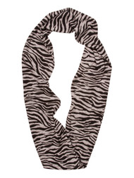 Animal Print Design Infinity Loop Scarf