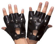 Adult Studded Costume Closure Glove Pair