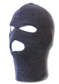 Charcoal Three Holed Ski Mask