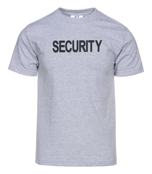 Security Law Enforcement Grey T-Shirt