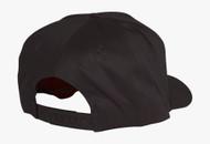 Cotton Twill Golf Cap - Black