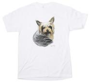Men's Yorkshire Terrier Print T Shirt