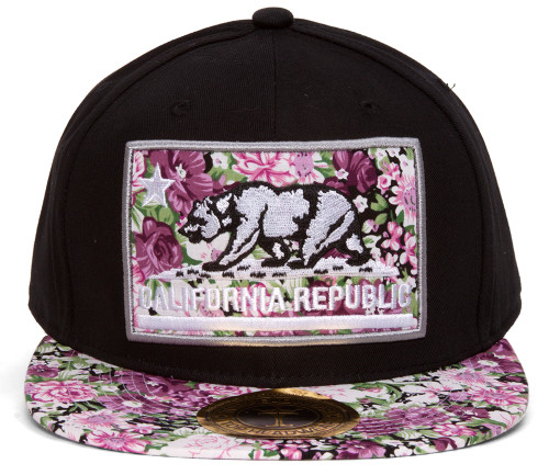 TopHeadwear California Republic Snapback (Various Designs)