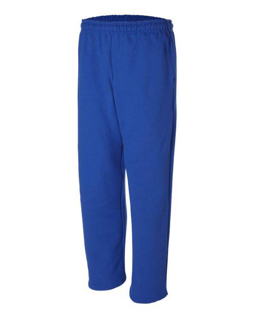 Gildan G123 9.3 oz. DryBlend 50/50 Open-Bottom Sweatpants