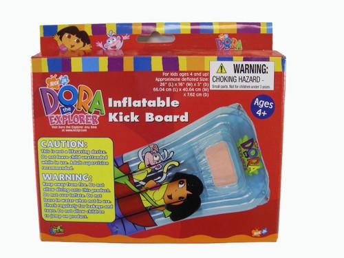 Dora The Explorer Inflatable Kick Board - Dora Raft