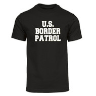 US Border Patrol Military T-Shirt - Black