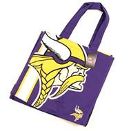"Minnesota Vikings Medium Tote Bag (Measures 13"" x 14"" x 5"")"