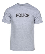 New Grey Police T-Shirt