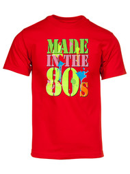 Men's Generation X Made in the 80's Neon T-Shirt