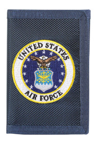 United States Air Force Logo Nylon  Wallet