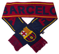 FC Barcelona Official Woven Team Scarf
