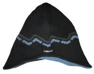 Head Neo Classic Fleece Beanie, Black/Light Blue
