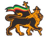 Rasta Lion of Judah Patch