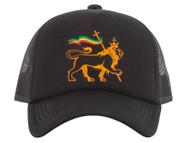 Rasta Lion of Judah Trucker Hat