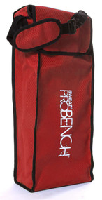 Sweat Pro Bench - 3 Seat Folding Sports Bench - Red