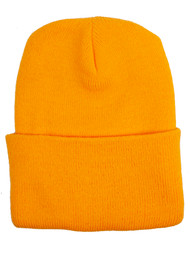 NCAA North Carolina Tar Heels Gold Beanie - Foot Logo
