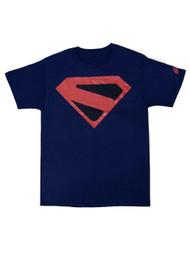 Officially Licensed DC Comics Men's Kingdome Come Superman Logo T-Shirt