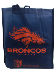 NFL Denver Broncos Tote Grocery Bag
