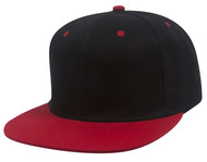 Top Headwear Flat Bill Adjustable Snapback Cap