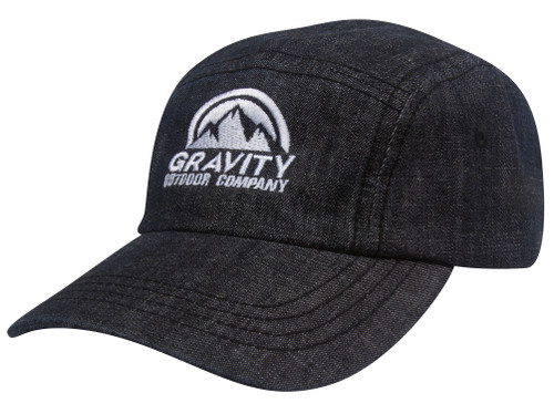 Gravity Outdoor Co. 5 Panel Washed Denim Cap