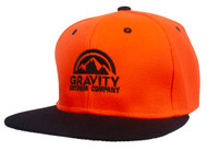 Gravity Outdoor Co. Logo Polyester Snapback Hat