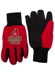 Embroidered Logo Sports Utility Gloves MLB, Arizona Diamondbacks