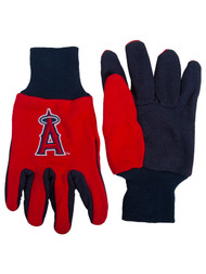 Embroidered Logo Sports Utility Gloves MLB, Los Angeles Anaheim