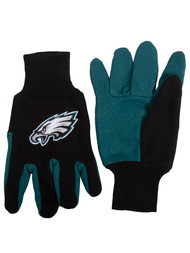 Embroidered Logo Sports Utility Gloves NFL, Philadelphia Eagles Black