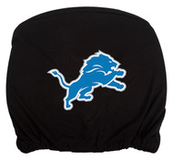 Embroidered Sports Logo 2 Pack Headrest Cover NFL, Detroit Lions